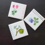 DIY.Painted tiles