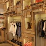 Rustic shop design