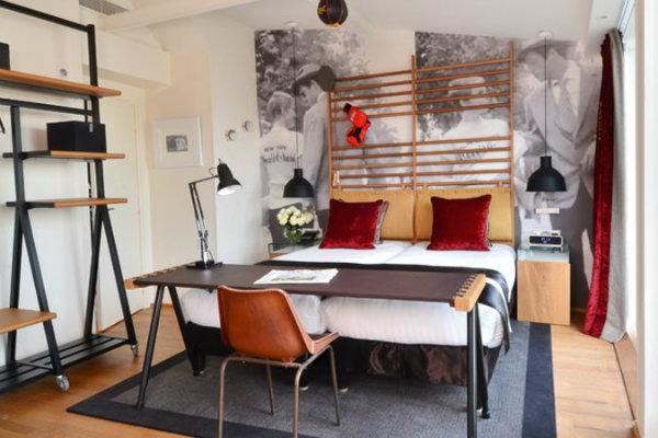 Le 123 Sebastopol Belmondo room