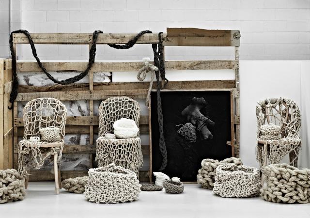 Sea Art Exhibition chair room by Little Dandelion