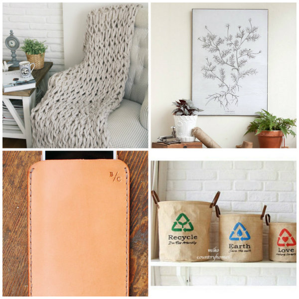 Etsy natural products for home