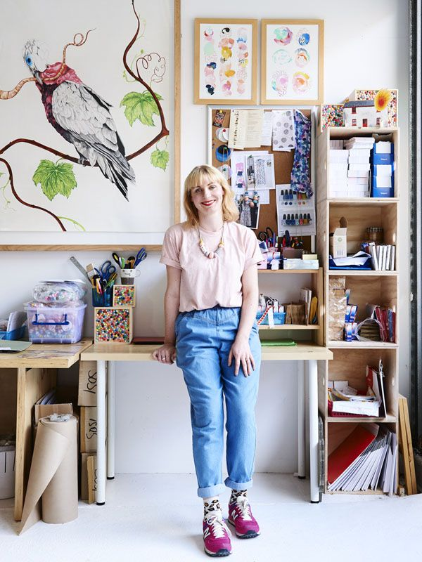 Emily Green in her Northcote Studio