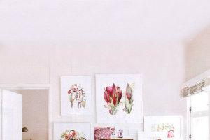 Home studio of artist Cherie-Christine