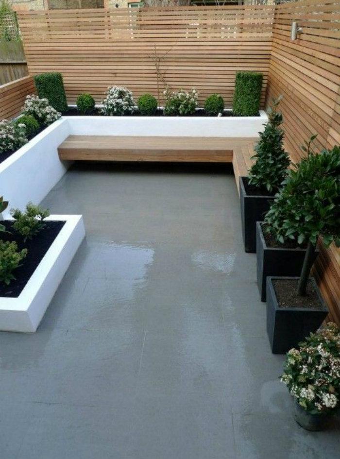 Modernoutdoor space