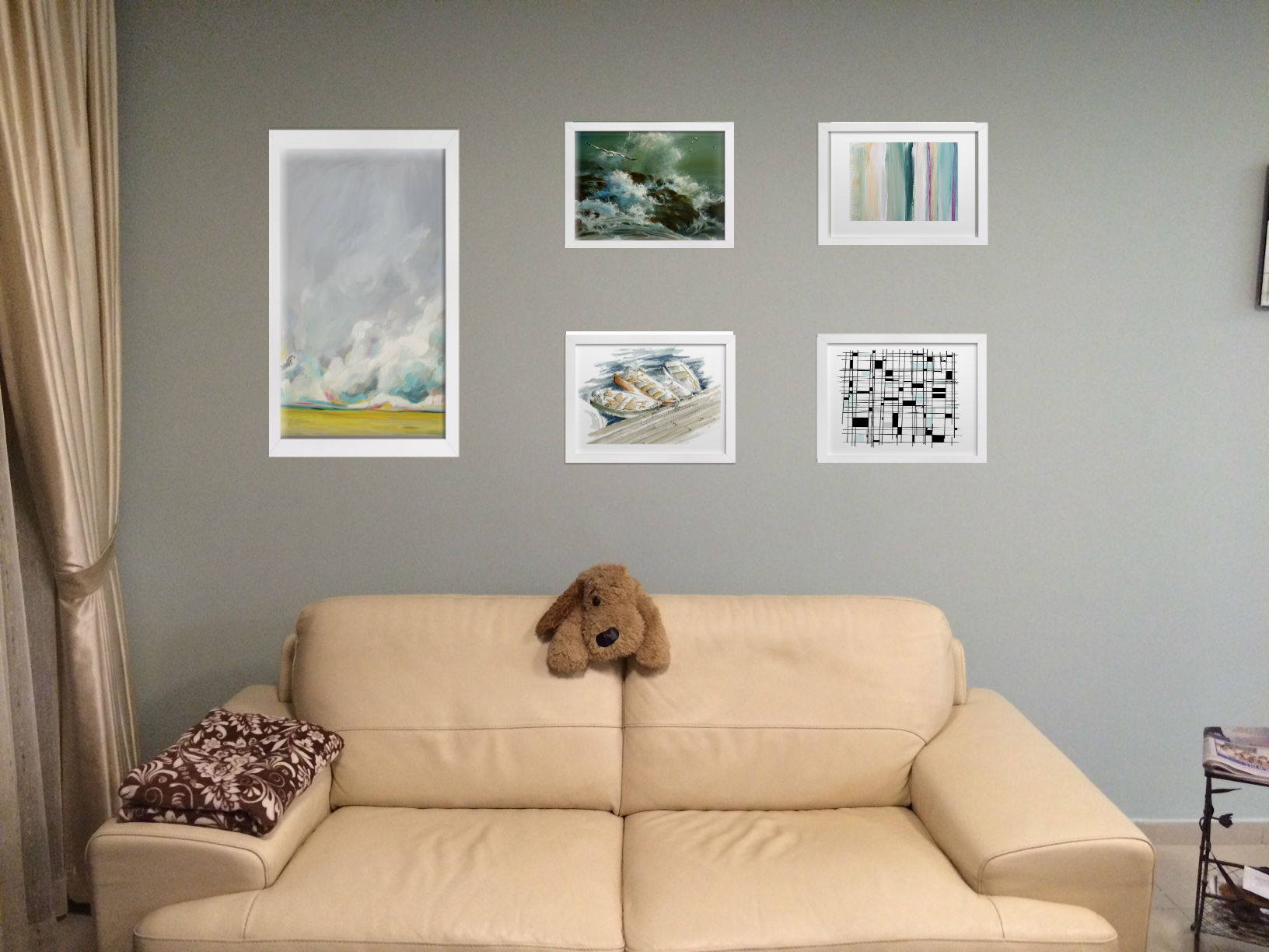 Planning wall art